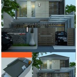 Model Rumah 2 Lantai_Modern Tropis Khas SIGIARCHITECT Studio