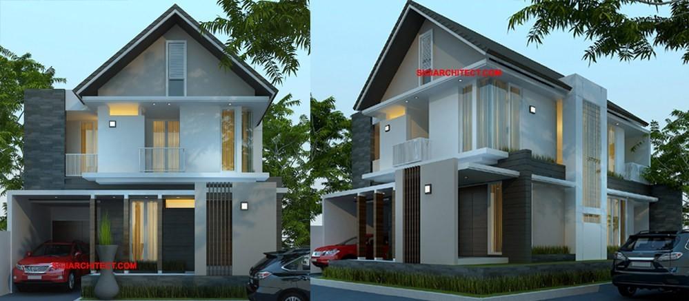 Desain Rumah 2 Lantai Dwg  desain rumah tumbuh 2 lantai kavling hook