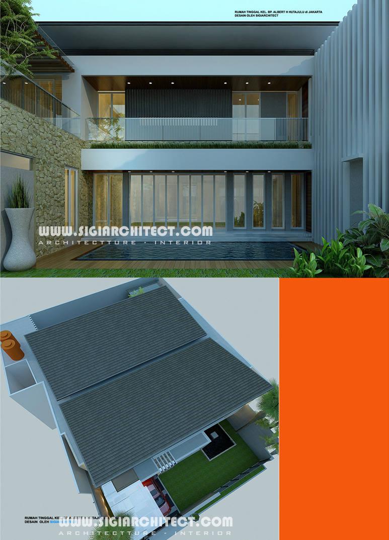 Rumah Mewah 2 Lantai Kolam Renang Privat Modern Minimalis