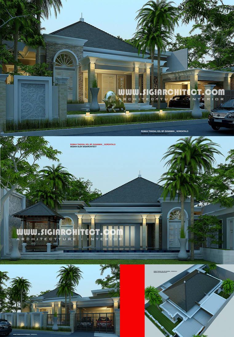 desain-rumah-1-lantai-dengan-kolam-renang-privat