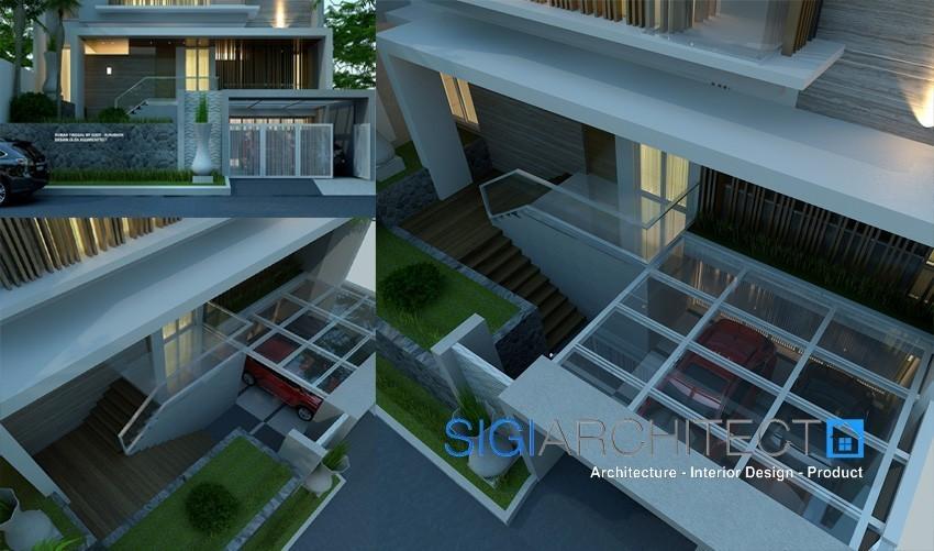 model rumah minimalis modern 3 lantai 3