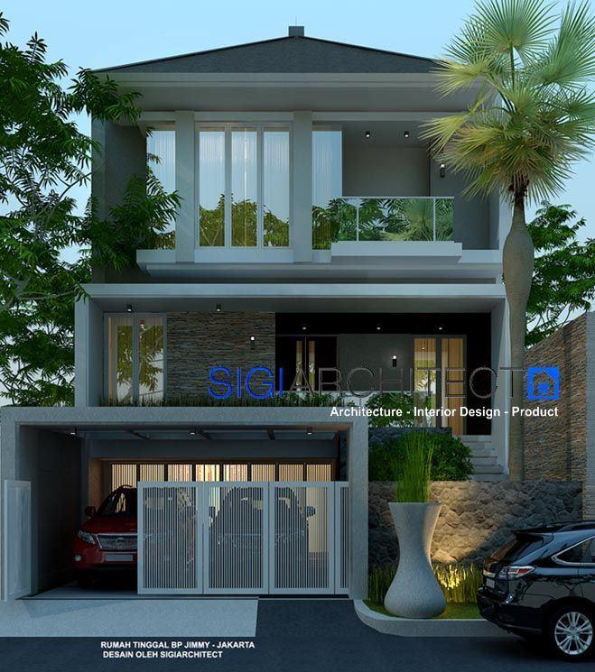 desain rumah modern minimalis 3 lantai 3