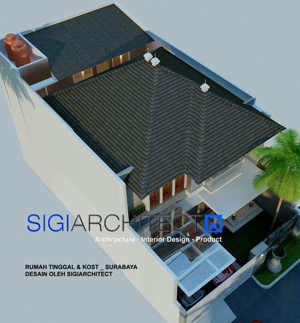 Desain Rumah Tumbuh Rumah Minimalis Tropis 2 Lantai
