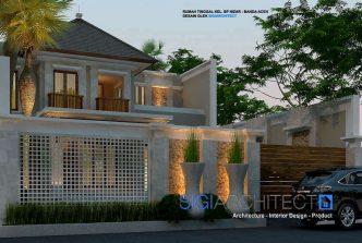 desain villa bali modern 2 lantai 2