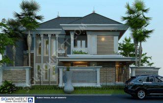model rumah klasik