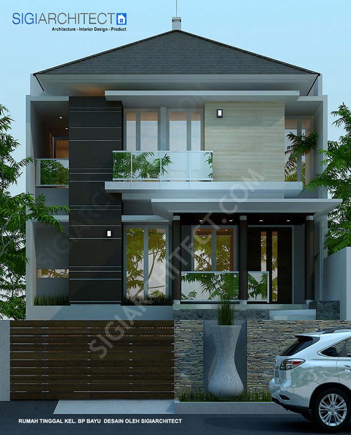 model rumah split 3 lantai