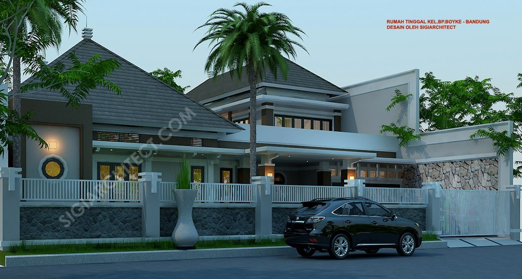 Rumah Bandung Tempo Dulu 2 Lantai 2