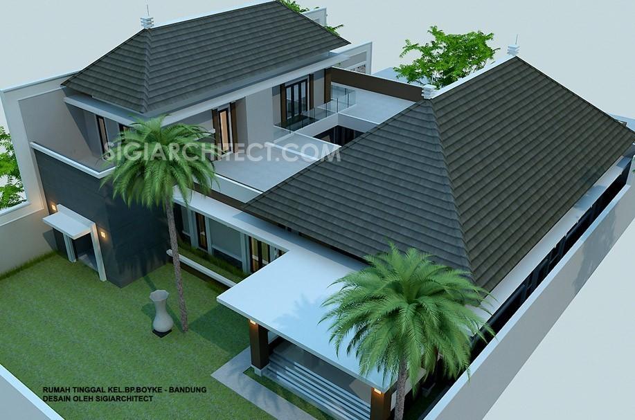 Rumah Bandung Tempo Dulu 2 Lantai 3