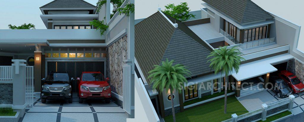 Rumah Bandung Tempo Dulu 2 Lantai 5