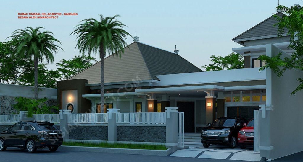 Rumah Bandung Tempo Dulu 2 Lantai 6