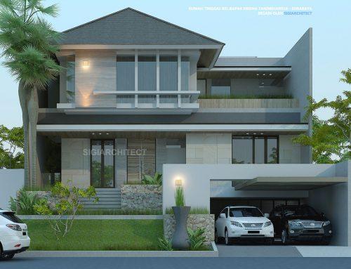Rumah Mewah 3 Lantai _ Cluster_Semibasemen
