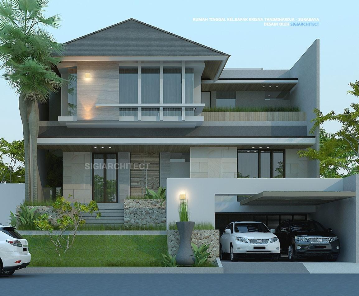 Rumah Mewah 3 Lantai_Cluster