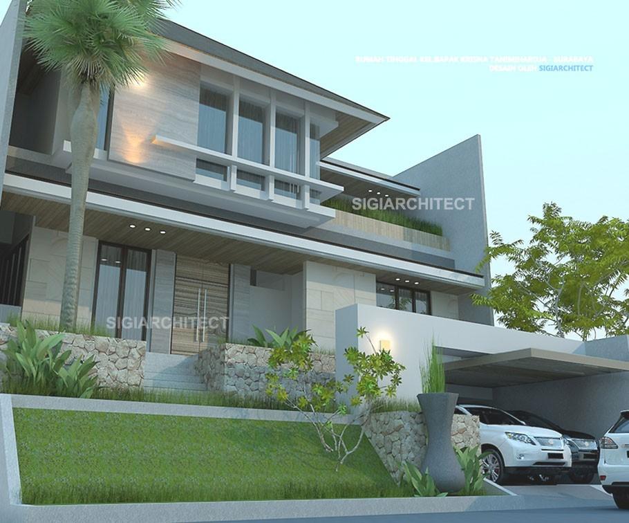 Rumah Mewah 3 Lantai_Type Cluster
