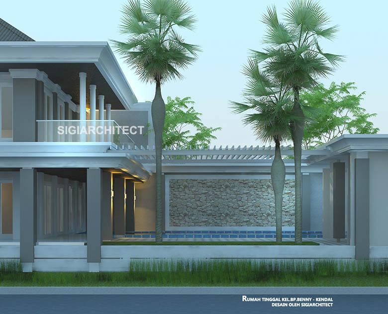 Rumah Mewah Kolam Renang
