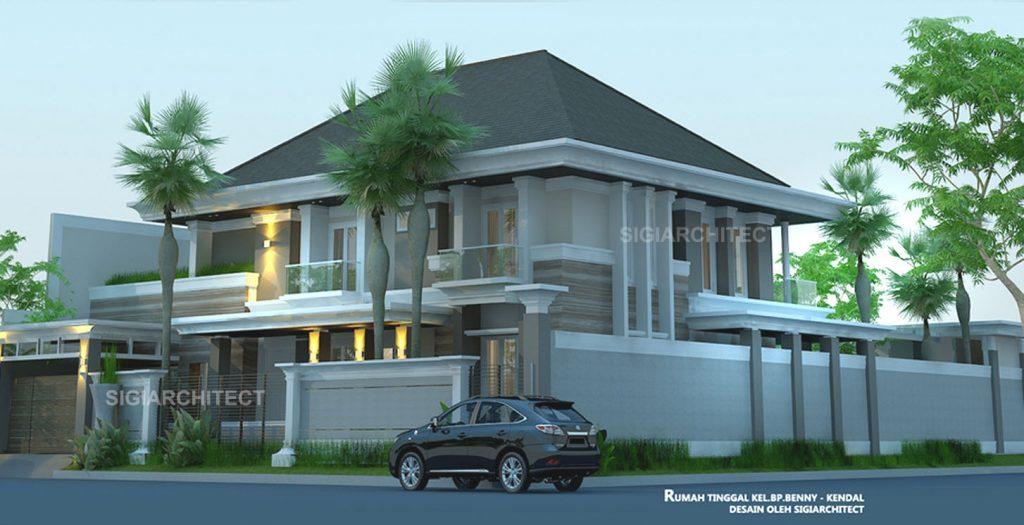 Rumah Mewah dengan Kolam Renang