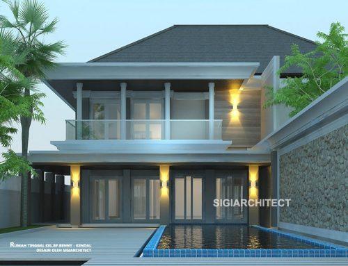 Rumah Mewah dengan Kolam Renang-2 Lantai
