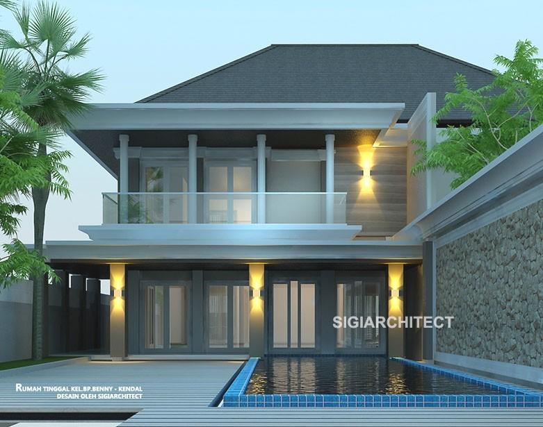 Rumah Mewah dengan Kolam Renang Privat