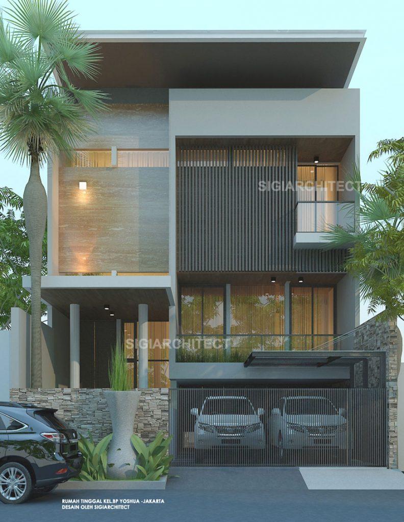 830 Koleksi Gambar Fasad Rumah Minimalis 2 Lantai HD Terbaik
