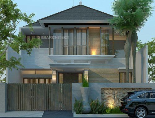 Model Rumah 2 Lantai Minimalis Tropis