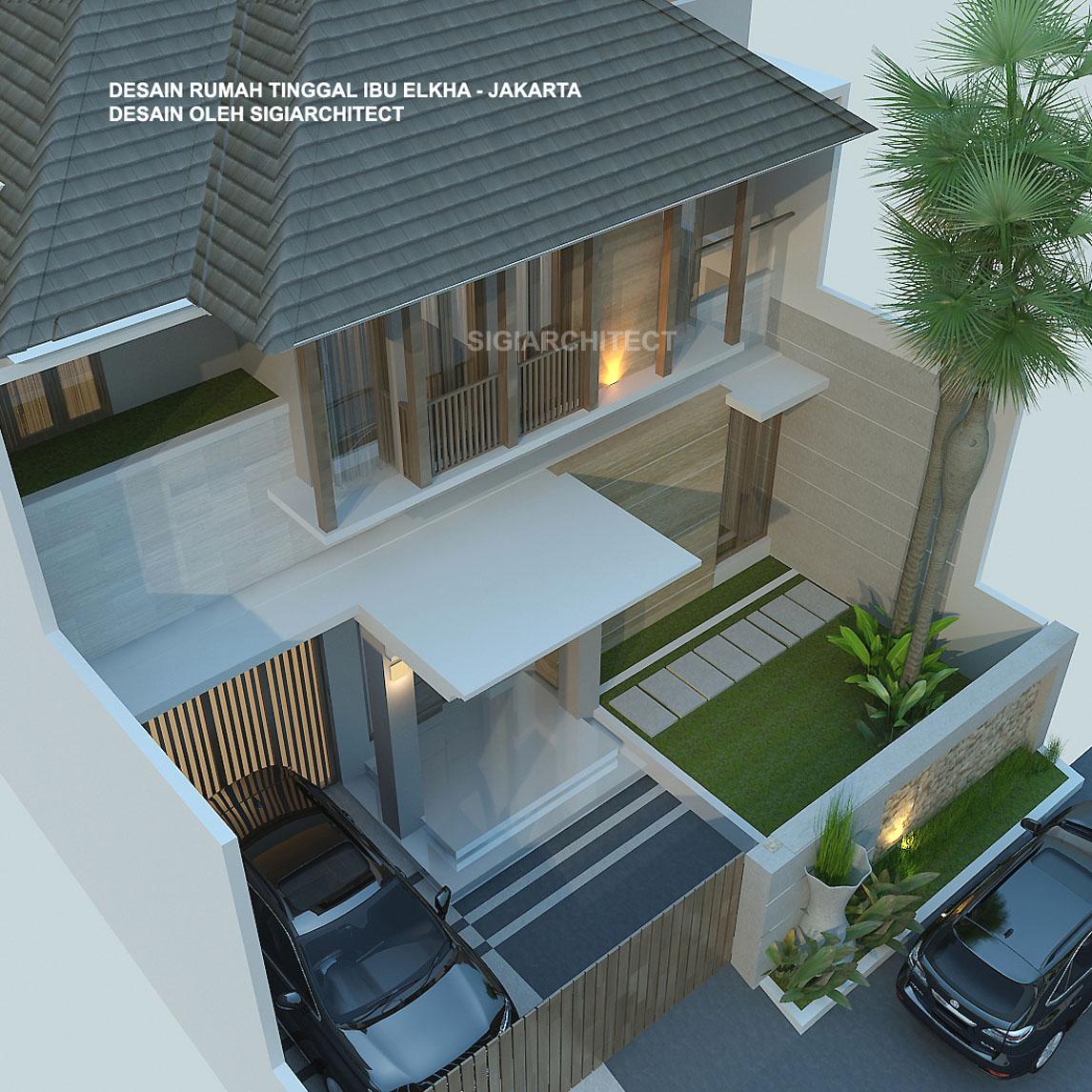 Rumah Tropis 2 Lantai B