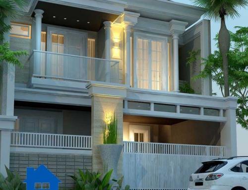 Rumah Mewah 2 Lantai 250 M2 Klasik Modern