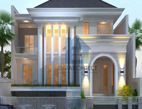 Desain Rumah Klasik Modern 3 lantai