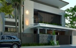 desain rumah minimalis modern 2 lantai 2020