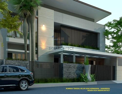 Desain Rumah Minimalis 2 Lantai Modern 2020