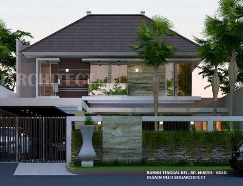 Model Rumah Hoek 2 Lantai type 300-400 M2