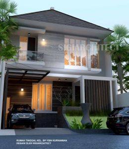 rumah 2 lantai type 250 m2 rumah modern minimalis