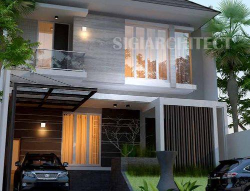 Desain Rumah Minimalis 2 Lantai Type 250 M2