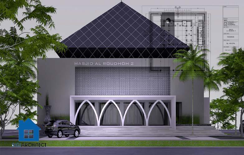 jasa arsitek masjid modern 3
