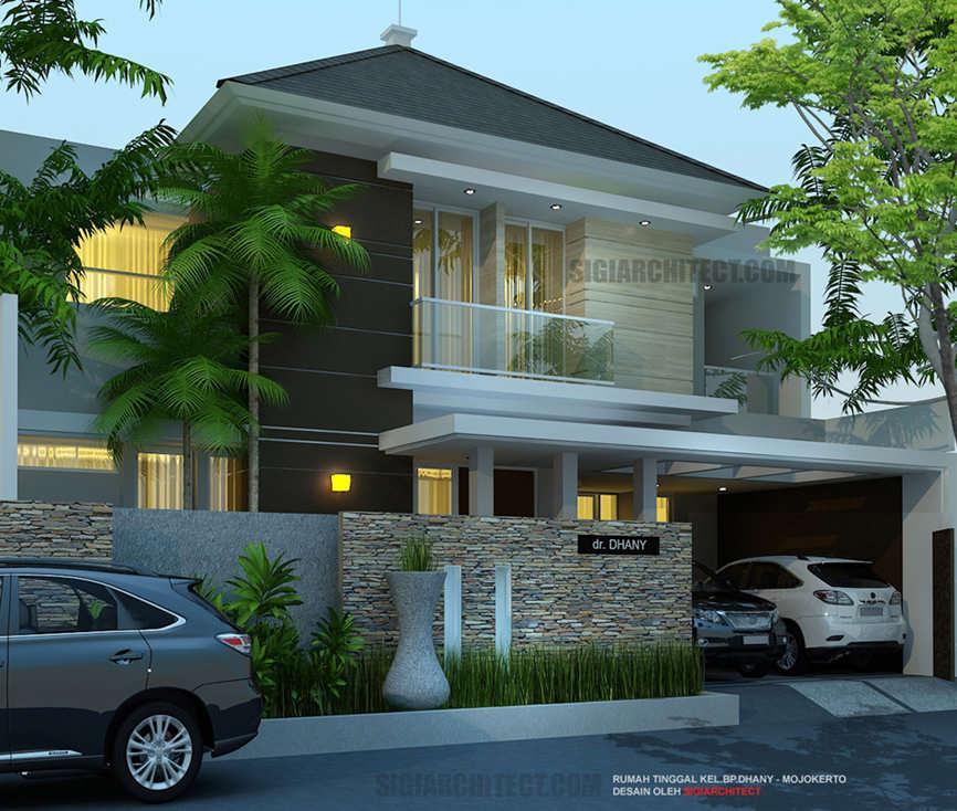 jasa arsitek rumah 2 lantai modern minimalis