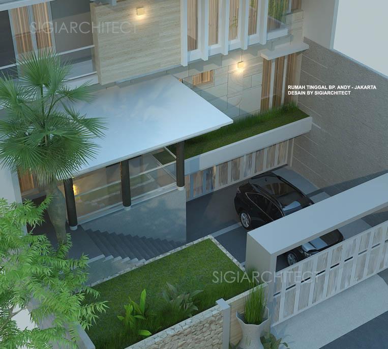 desain rumah 3 lantai jasa arsitek BapakAHT3