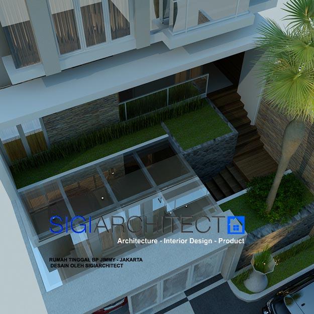 jasa desain arsitek rumah 3 lantai
