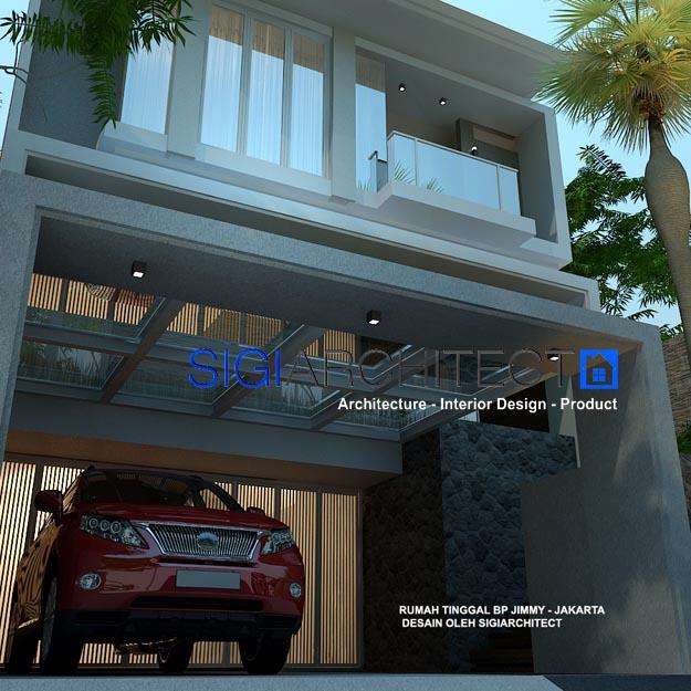 arsitek rumah 3 lantai modern