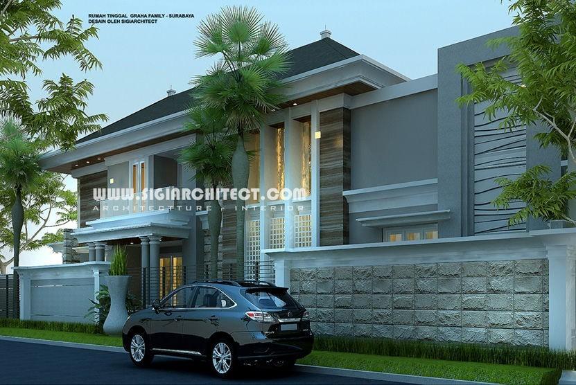 jasa arsitek desain rumah graha family surabaya 3