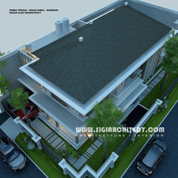 jasa arsitek desain rumah graha family surabaya 4