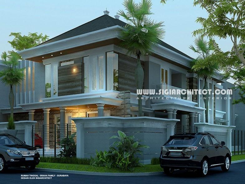 jasa arsitek desain rumah graha family surabaya