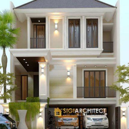 Desain Rumah Joglo Jawa 2 Lantai Type 250 M2 Roof Garden