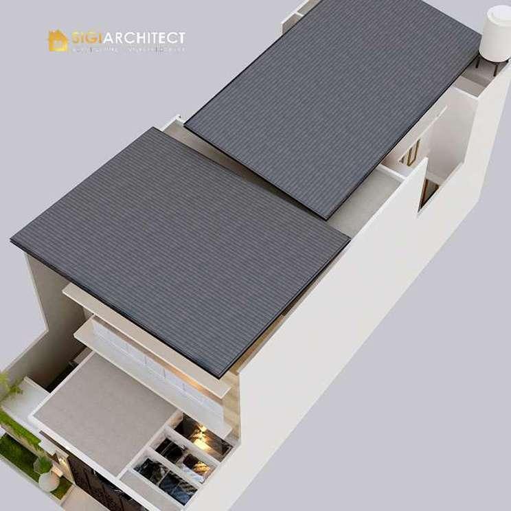 model atap rumah tingkat 2 minimalis