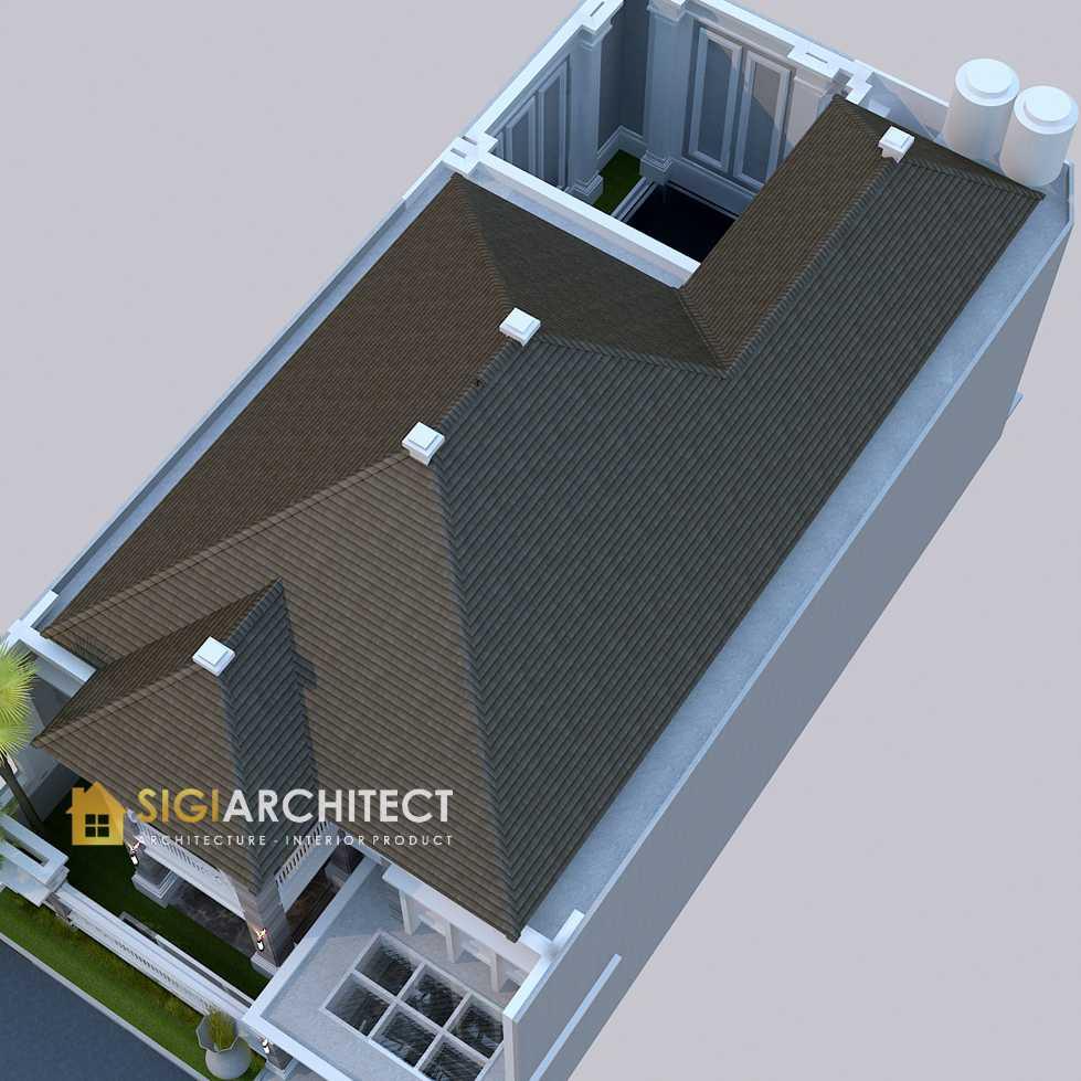 desain atap rumah 2 lantai klasik modern