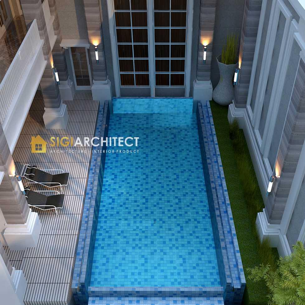 desain kolam renang desain rumah 2 lantai klasik