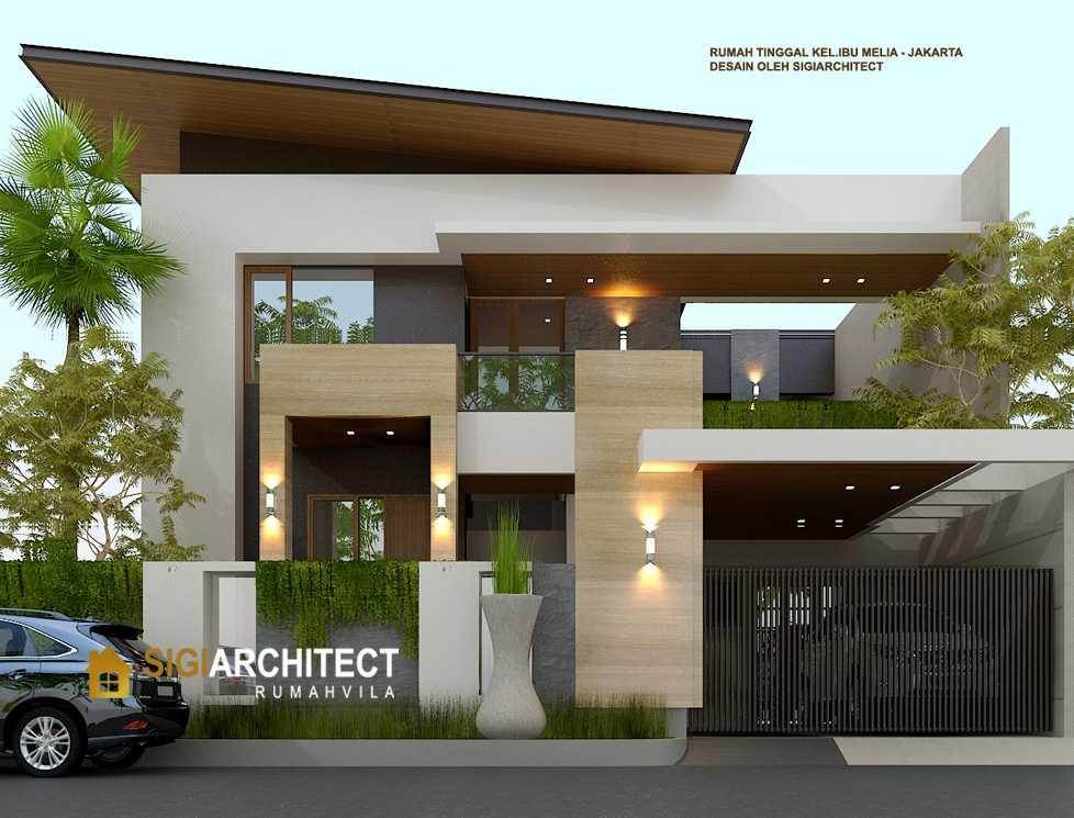 Desain Rumah Minimalis Hook 2 Lantai Modern tipe 400 M2