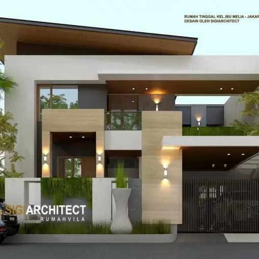 jasa arsitek desain rumah minimalis kavling hook sigiarchitect