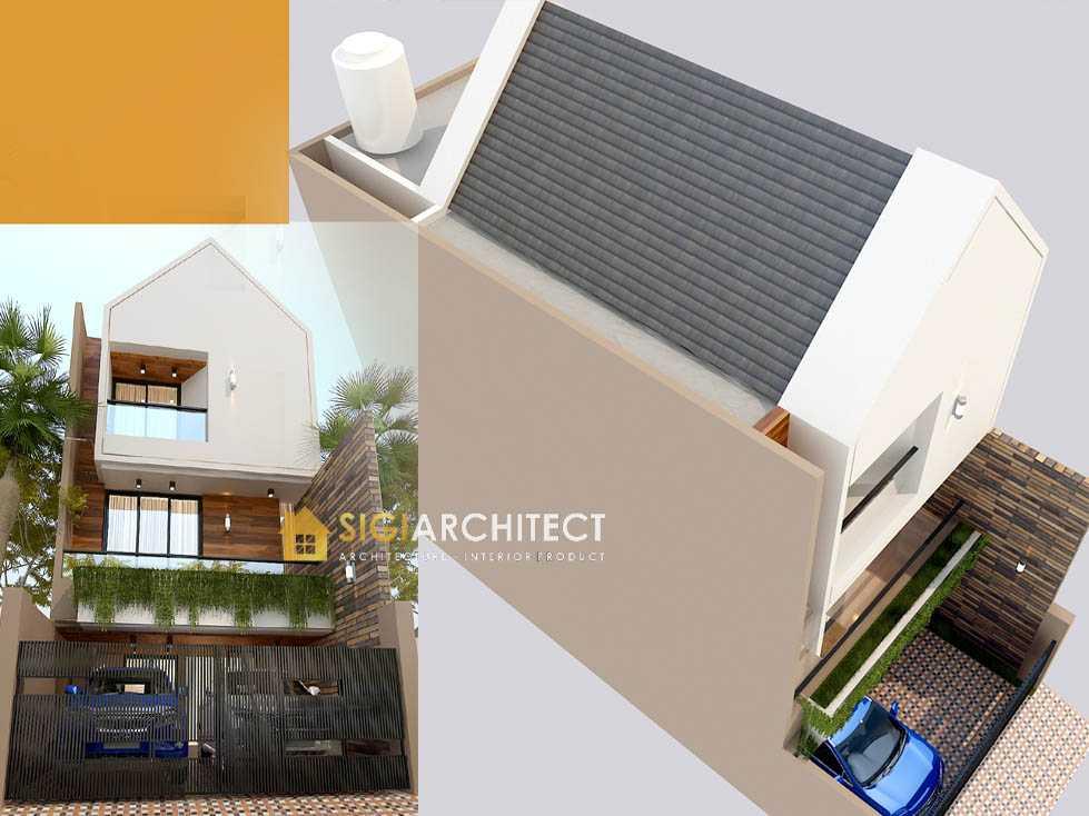 Arsitek rumah mewah 200 m2 kecil 3 lantai retro minimalis