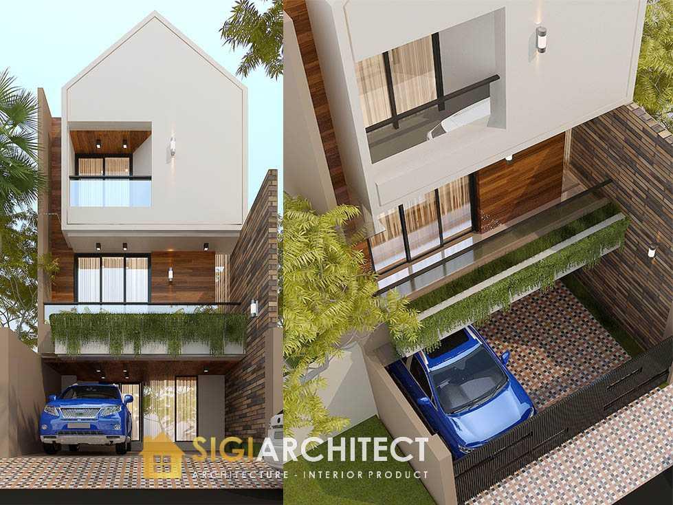 Desain arsitek rumah kecil 3 lantai tipe 150 180 200 m2