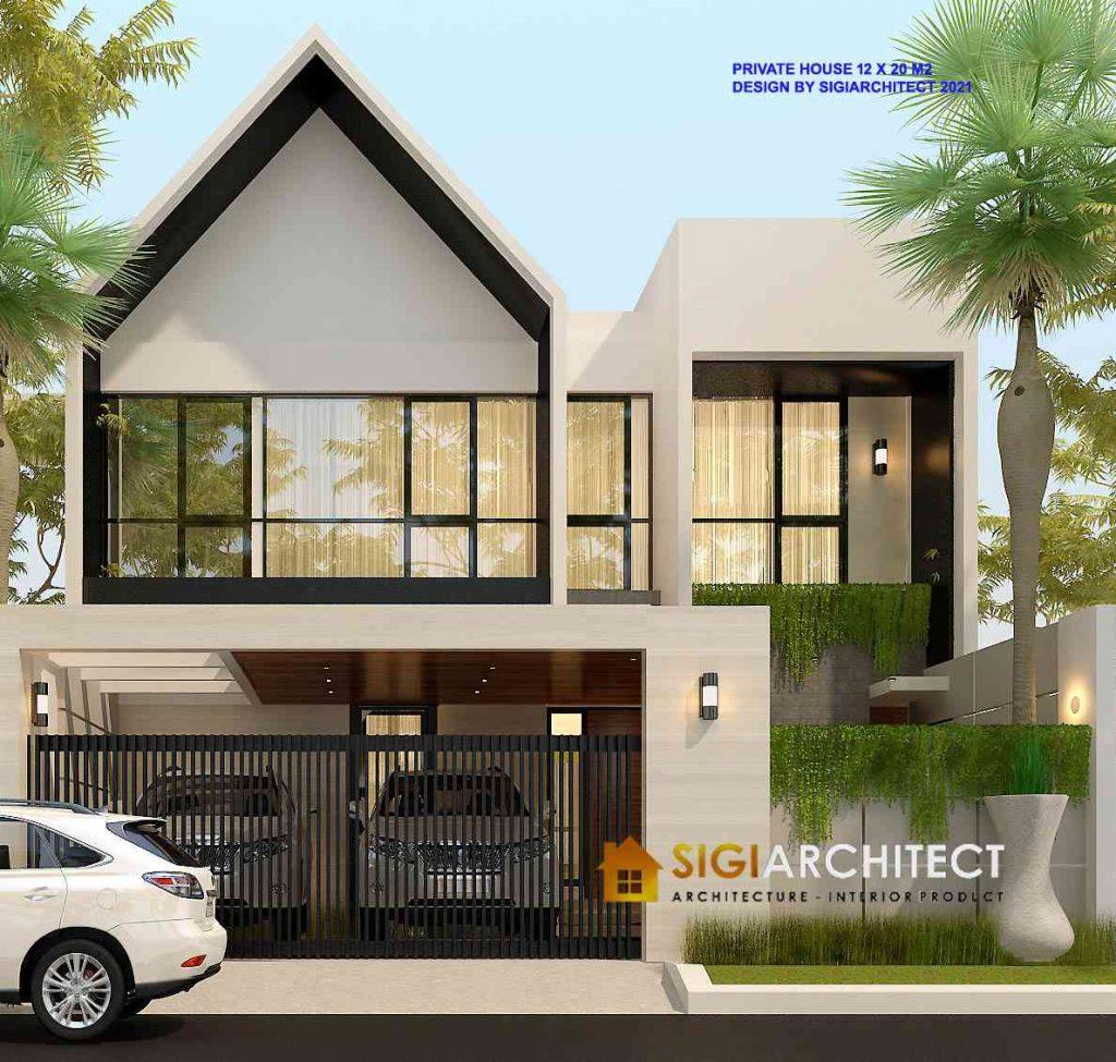 Desain Model Rumah Minimalis Modern 300 m2