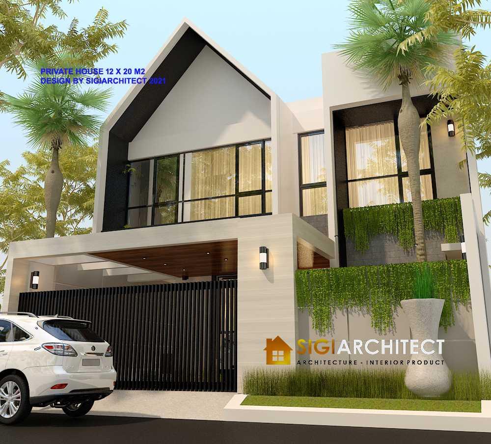 Fasad Rumah Minimalis Modern 300 m2