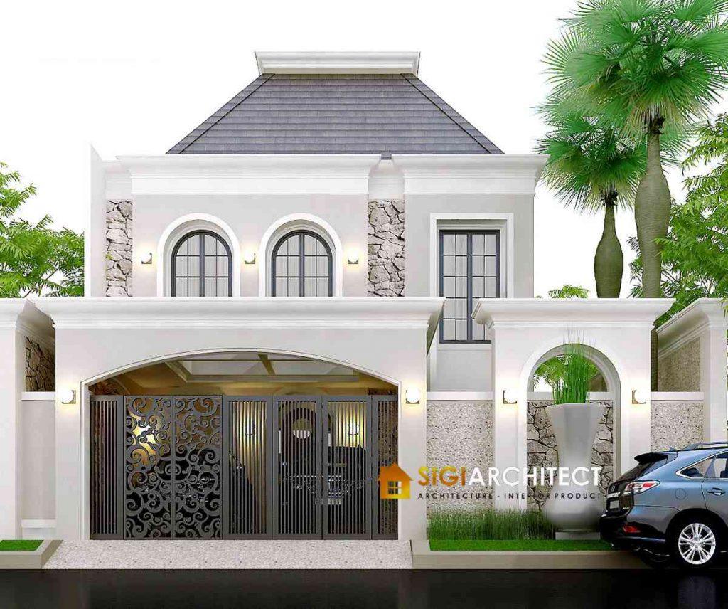 desain rumah mewah klasik mediteran
